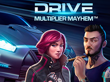 Drive: Multiplier Mayhem от Netent – азартная игра онлайн